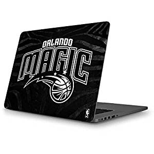 NBA Orlando Magic MacBook Pro 13 (2013-15 Retina Display) Skin - Orlando Magic Black Animal Print Vinyl Decal Skin For Your MacBook Pro 13 (2013-15 Retina Display)