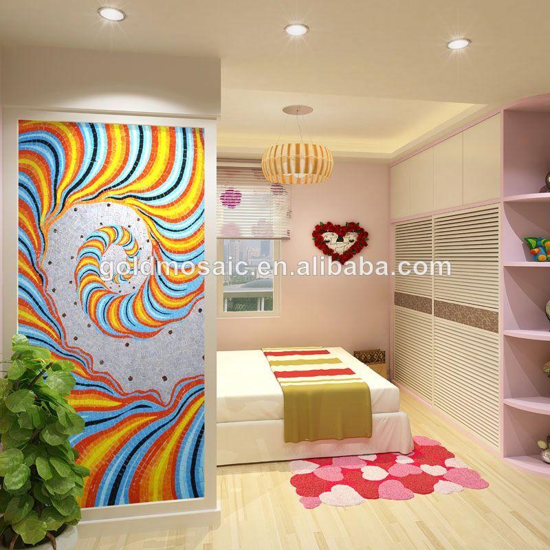 hogar dormitorio mural de la pared caliente murales de