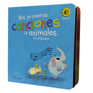 Spanlish sound book sound design books reading sound book for education