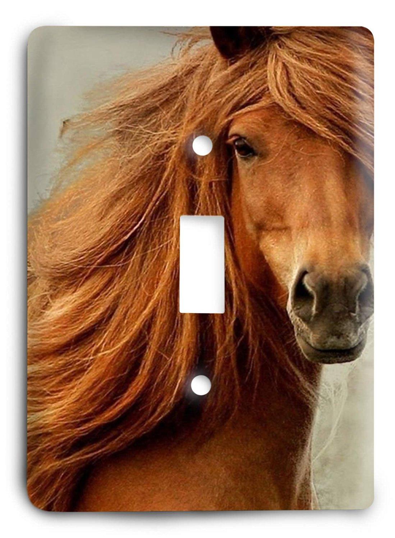 Horse Breed G5v17 Light Switch Cover