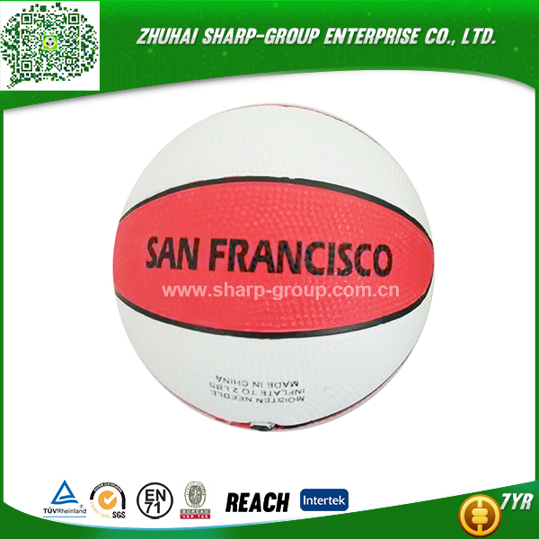 wholesale promotional Customized color custom basketball ball