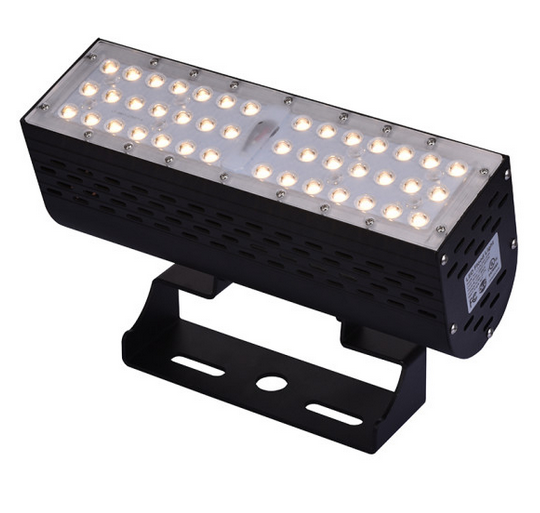 ETL DLC Certificated High Power Dimmable DC24V Waterproof IP67 Outdoor 50W LED Flood Light