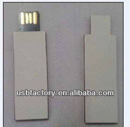 8G 16G thin slim Recycled paper Usb flash drive with custom logo