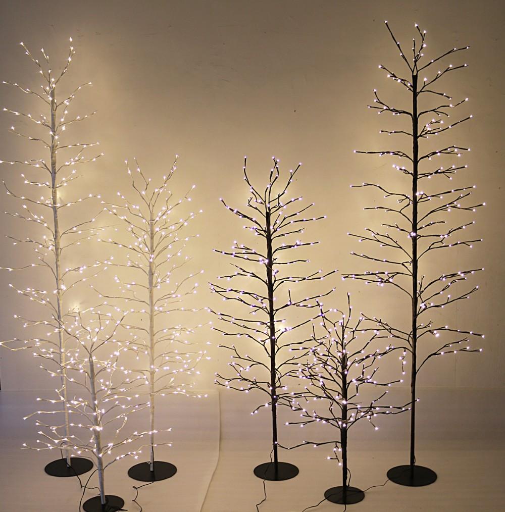 24 v belle led brindille branche d 39 arbre guirlande. Black Bedroom Furniture Sets. Home Design Ideas