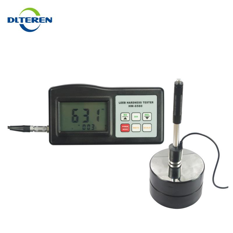Digital Shore Hardness Tester Shore A Test Durometer for Rubber Neoprene Soft PVC Teren-HT-6510A