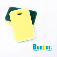 Polyester kitchen cleaning scrubbing pad