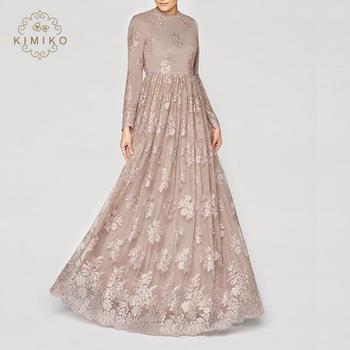 Designer fashion nude color long muslim abaya dresses, View plus ...