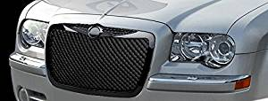 R&L Racing 2004-2006 Chrysler Sebring 4 Door Sedan / 2 Door Convertible Models Black Luxury Mesh Front Hood Bumper Grill Grille Abs