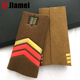 Custom army costume accessory style military uniform shoulder board