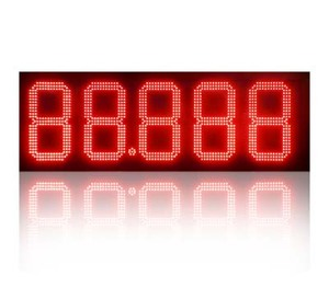 led number large display 7 segment countdown/countup timer digital clock