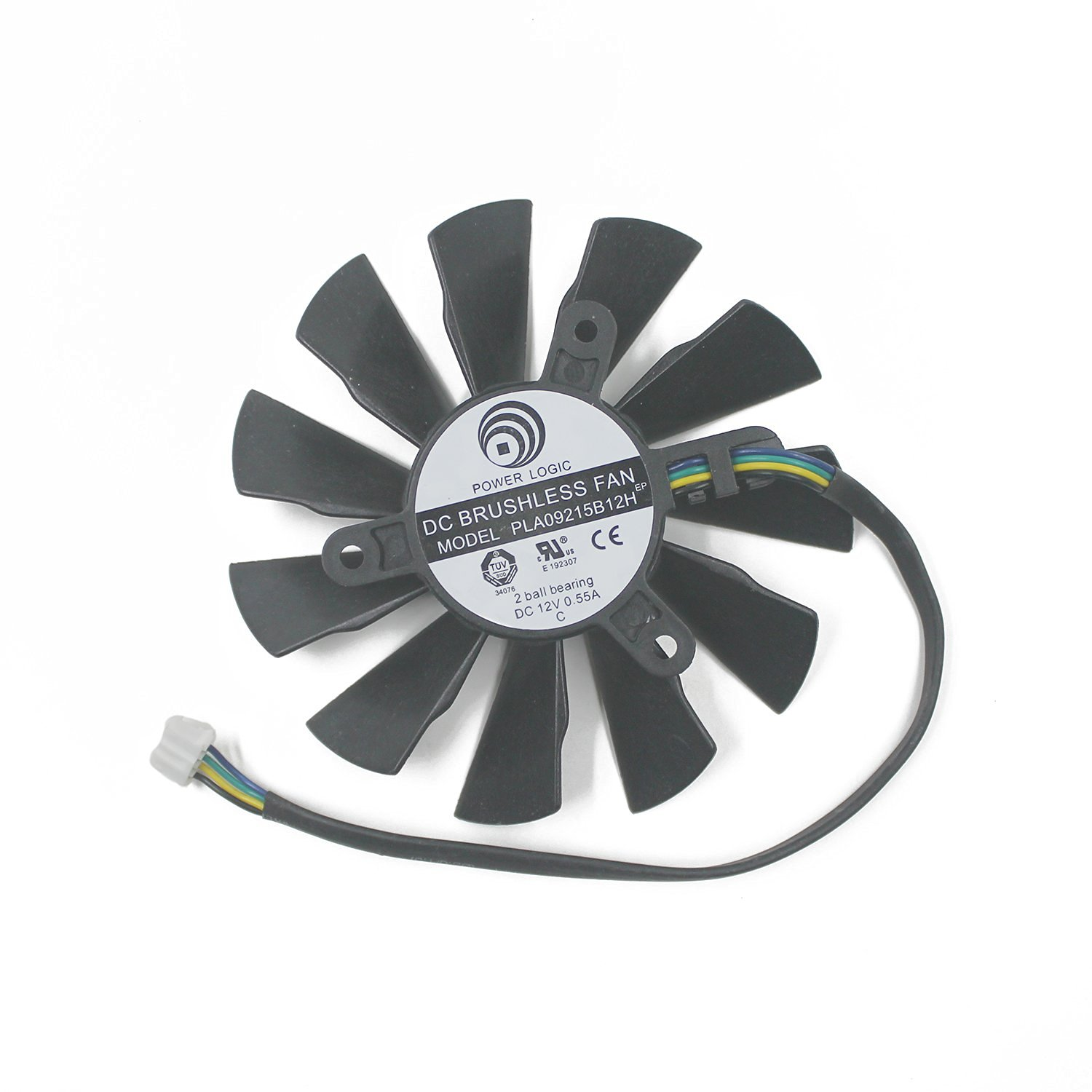 TOMUM PLA09215B12H DC Graphicss Card Fan 12V 0.55A 87mm For N560 570 580GTX HD6870 87mm Cooling Fan Cooler