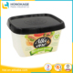 500g PP Material and Storage Boxes & Bins Type Butter Container,acrylic Material and Stocked Feature Acrylic Butter Tub