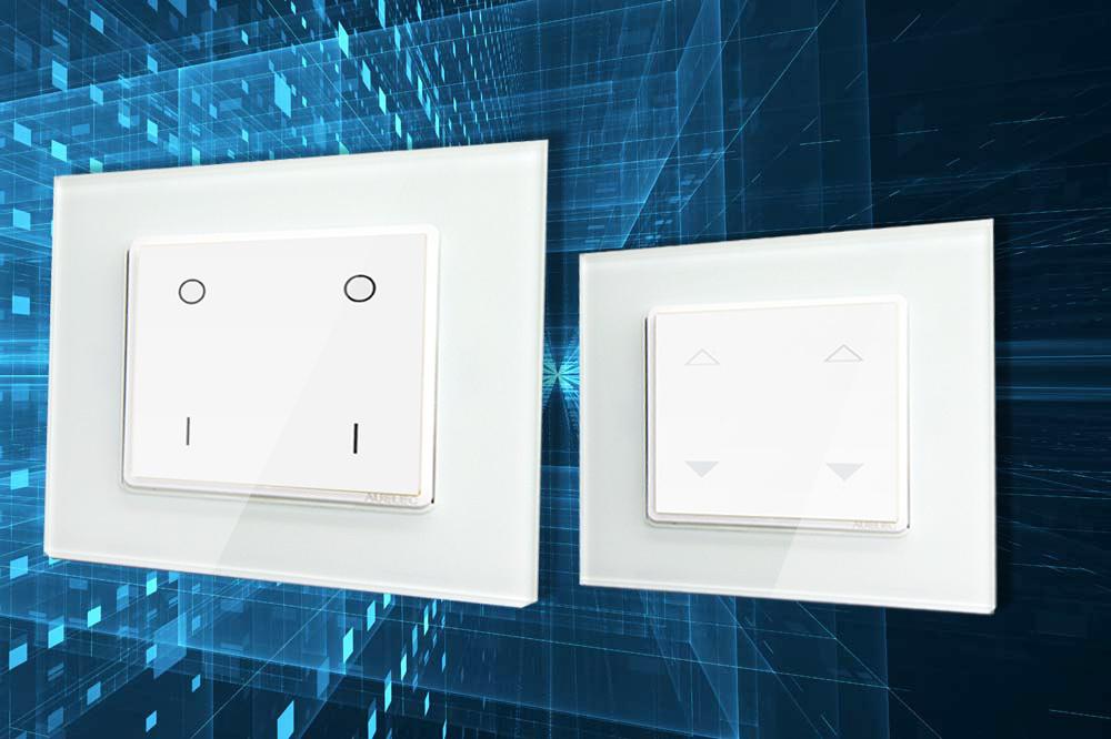 Smart Home Drahtlose Wifi Lichtschalter Mit Touchscreen,Installation ...