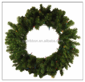 2016 target outdoor christmas decorations lighted artificial pvc wreath