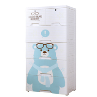 Baby toy storage eco-friendly plastic drawer cabinet