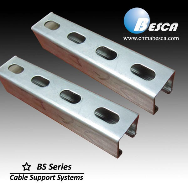 GI Steel C Channel /C Shaped Steel Channels Prices