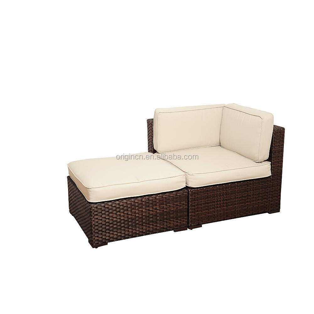 Simple Design 9 Pieces Sectional Patio Furniture Synthetic