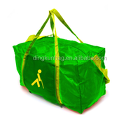 factory manufacturer 210D polyester large container foldable duffle bag