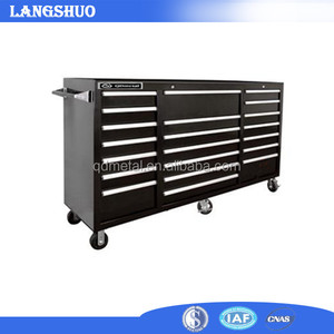 72 Inch Heavy Duty Mobile Stainless Steel Tool Chest Roller Cabinet for Garage System
