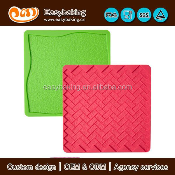 silicone textured mat