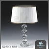 E27 holder luxury crystal table lamp