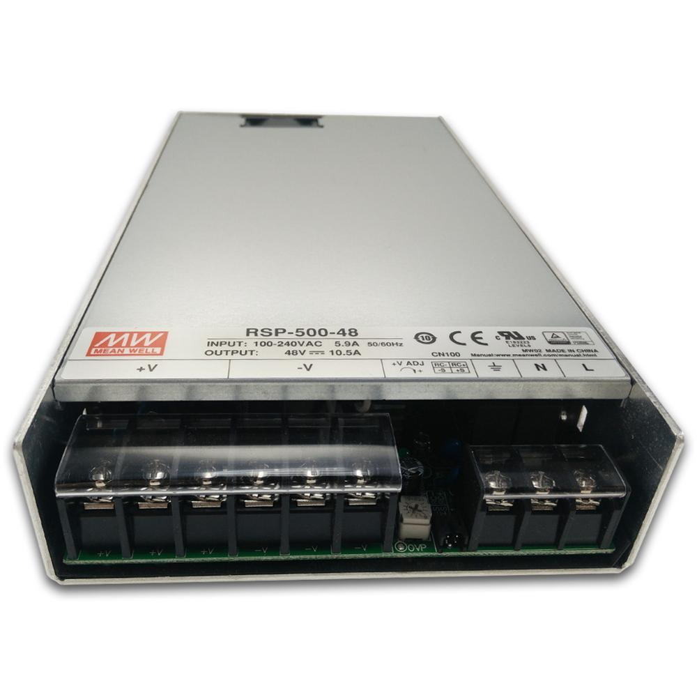 MEAN WELL POWER SUPPLY RSP-500 500W 1U low profile dali led driver