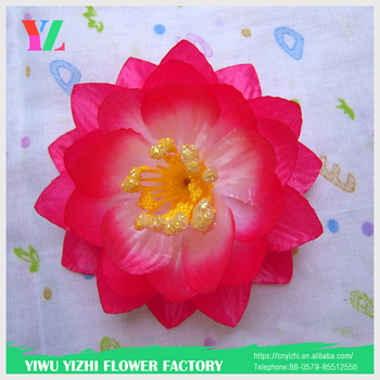 Wholesale colorful craft artificial kaloud silk lotus flower heads wholesale colorful craft artificial kaloud silk lotus flower heads water lotus for flower making mightylinksfo