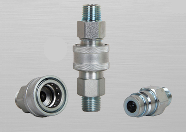 General quick connect pipe fitting hydraulic transfer
