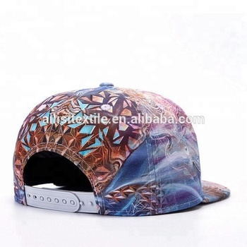 Hot Sale Mens 3D Printed Baseball Cap Hats  Digital Printed Hip Hop Snapback  Cap Hat e28f557482d6