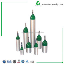 Medical Use Size D Aluminum Oxygen Cylinder