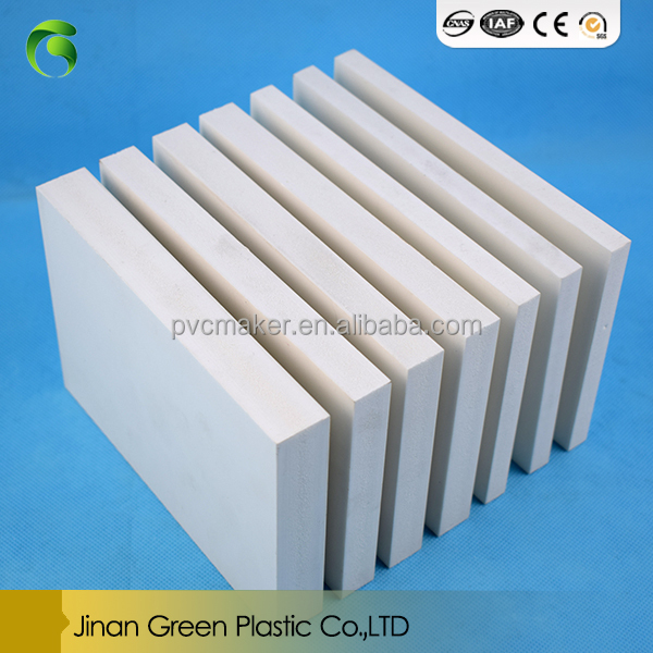 Green hot sale Good price white furniture material foam 4x8 pvc sheets