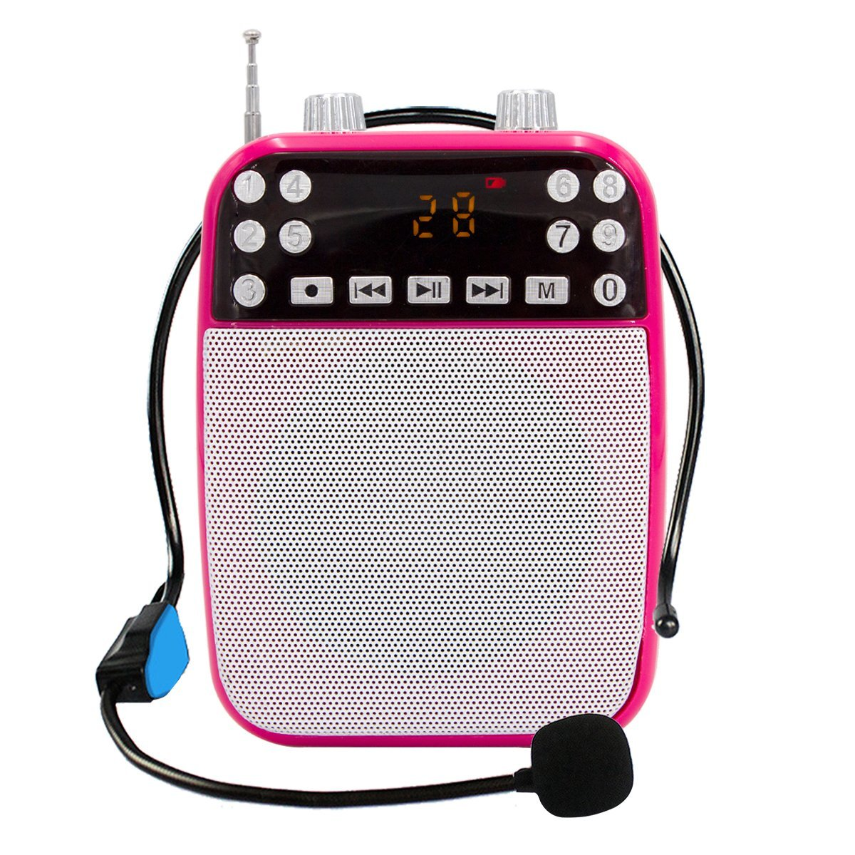 Cheap Teacher Voice Amplifier Portable Microphone Speake Find How To Build Speach Get Quotations Xiaokoa Ultralight With Wired Mp3 Playersd Tf Card