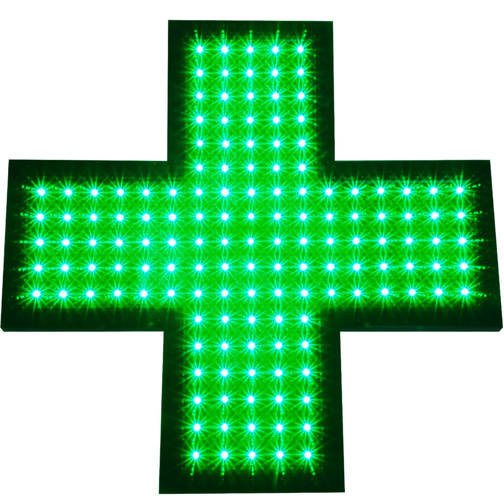 Hot sale factory direct price led pharmacy cross sign