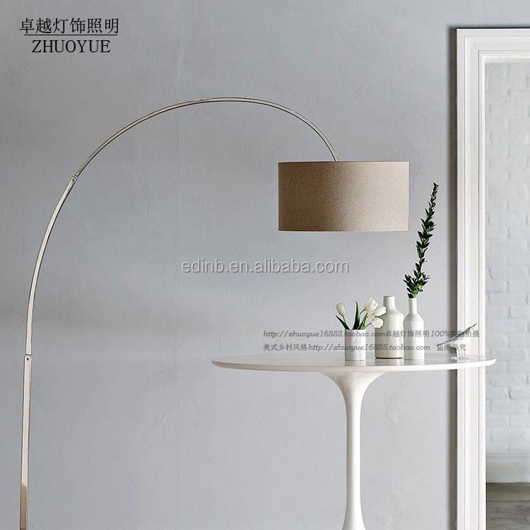 American Style Fishing Long Arm Floor Lamp