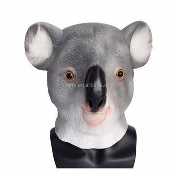 Animal Mask Latex Deluxe Novelty Halloween Costume Party Latex Animal Head Mask Koala Mask  sc 1 st  Wholesale Alibaba & Animal Mask Latex Deluxe Novelty Halloween Costume Party Latex ...