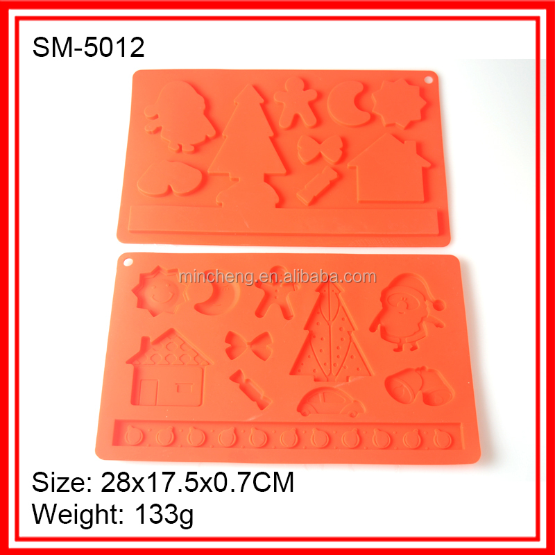 Wholesale 3d silicone icing molds with different shape
