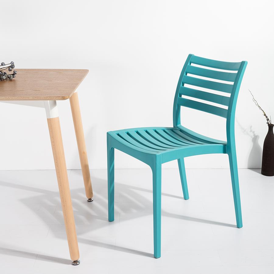 New design wholesale modern plastic outdoor garden chair for sale
