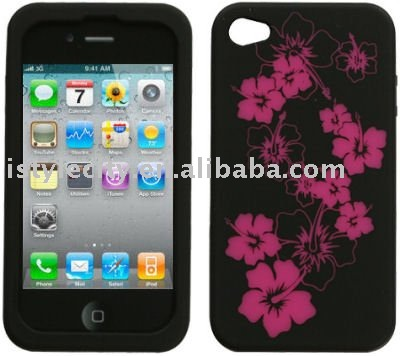 Diamante Silicone Skin for Apple iPhone 4