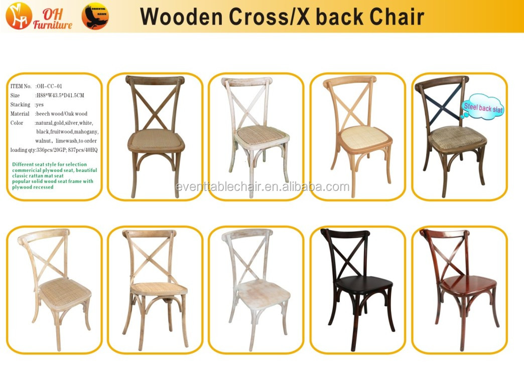 CROSS BACK CHAIRS.JPG