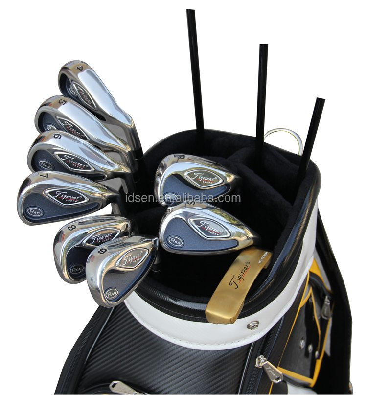wholesale customer logo and Hot Sale Import Export Major Golf Club with Golf bag right hand for men