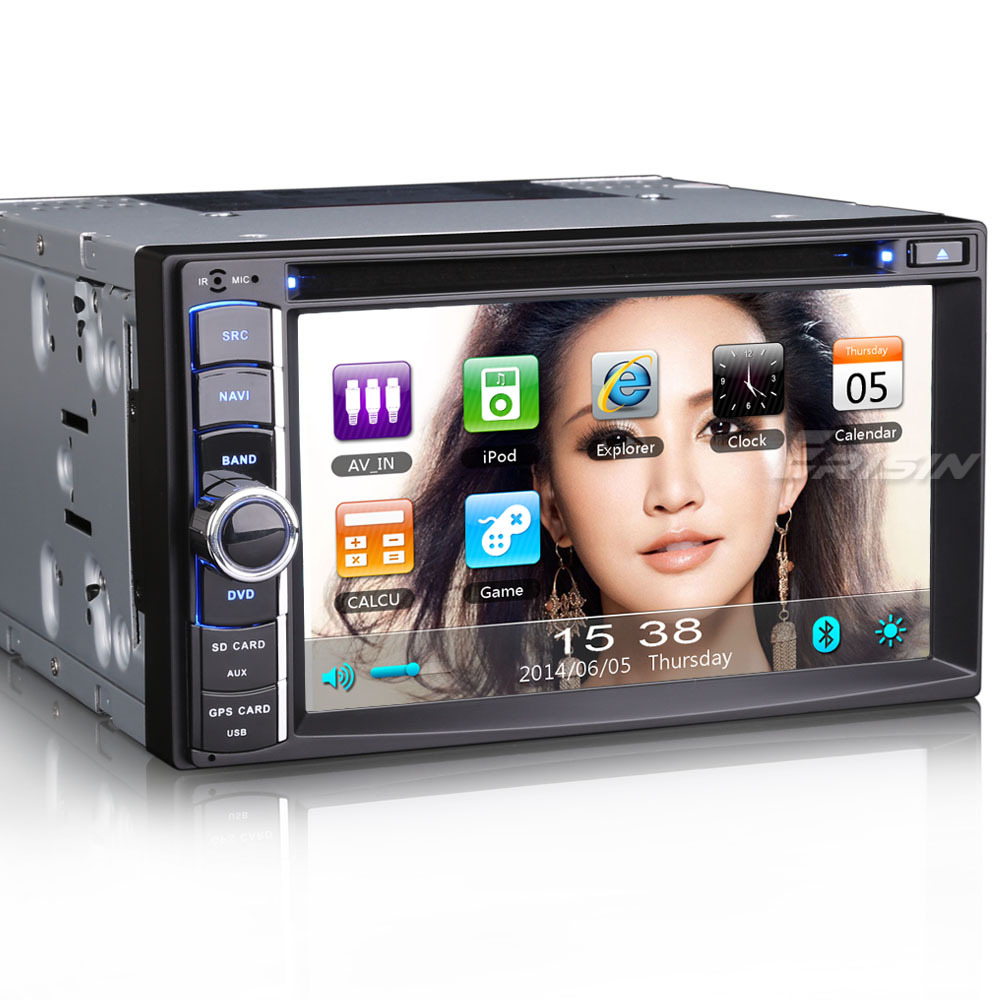 "erisin ES890G 6.2 "" double din mobil dvd player gps tv 3 g counter"