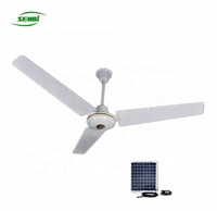 2019 Season AC DC BLDC Solar Ceiling Fan