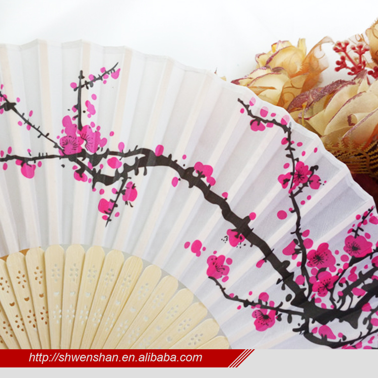 promotional bamboo fan wholesale