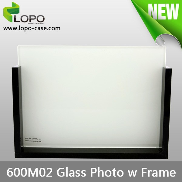 High quality good-looking sublimation glass photo frame