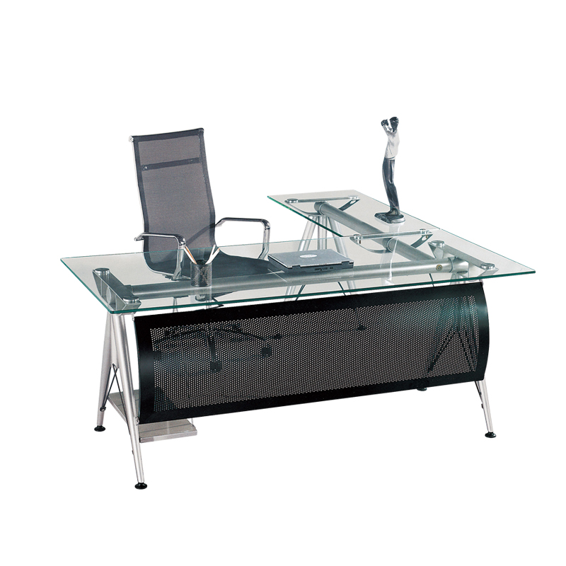 new arrival bba43 451fb Modern Office Furniture Table Design/ Executive Office Desk/tempered Glass  Computer Desk B013 - Buy Office Table Executive Ceo Desk Office ...