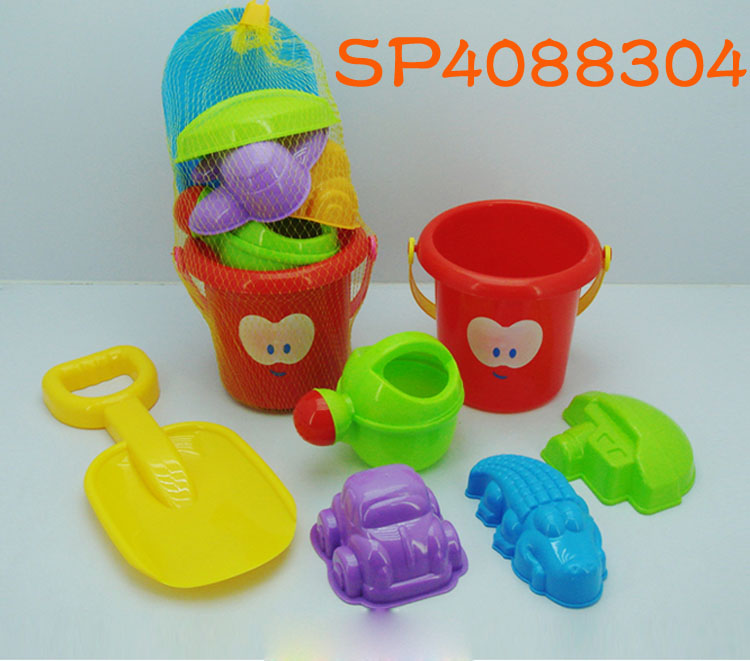 Cheap price 2017 new lovely funny beach buckets toys set for kids SP4088304