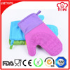Private Label Heat Resistance Kitchen Silicone Oven Glove/ Wholesale Dotted Silicone Heat Resistant Gloves with Cotton