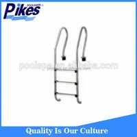 Factory supply 3 step In-ground cheap swimming pool slide ladder