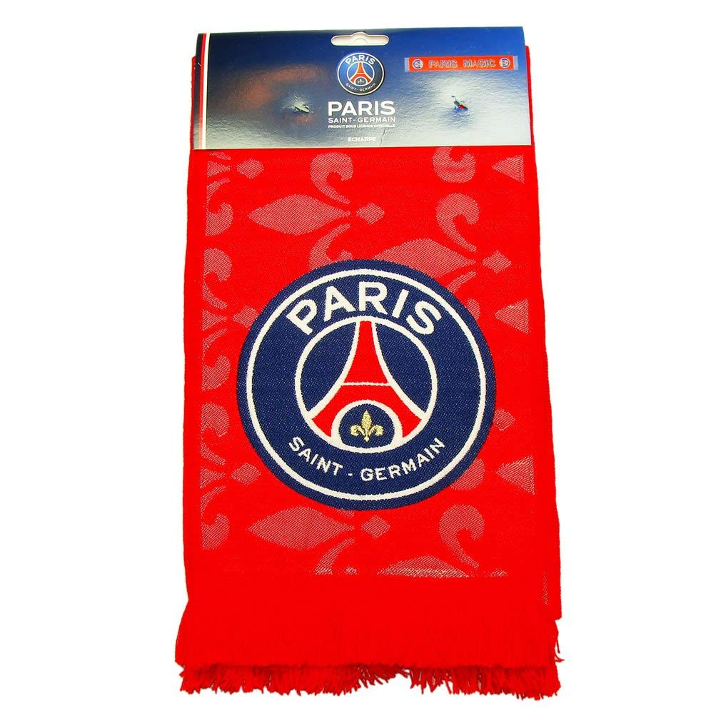 24cffa74284 Get Quotations · PSG - Official PSG Paris Saint-Germain Fan Scarf - Color    Red