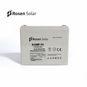 Solar Battery Capacity 55Ah Mini Solar Battery 12V 55Ah Deep Cycle Price